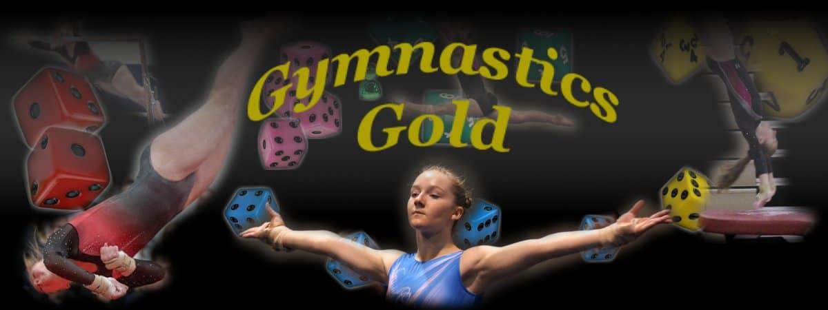 Gymnastics Gold - Dice & Card Game